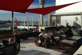 Visiting Delta Sky Clubs in Atlanta