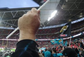 Traveling to the 2014 NFL International Series